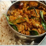 Kakka Irachi Ularthiyathu / Clam Stir-fry with Coconut