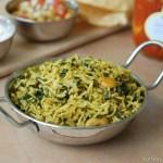 Palak Pulav / Spinach Pulav