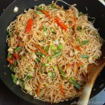 Vegetable and Egg Noodles With Video