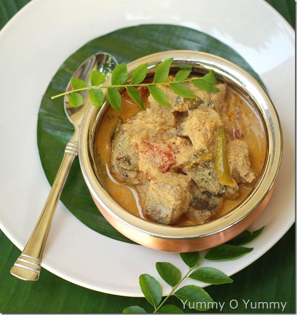 Meen thakkali curry
