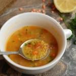Red Lentil (Masoor Dal) Soup