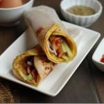 Egg Frankie / Kolkata Style Egg Roll