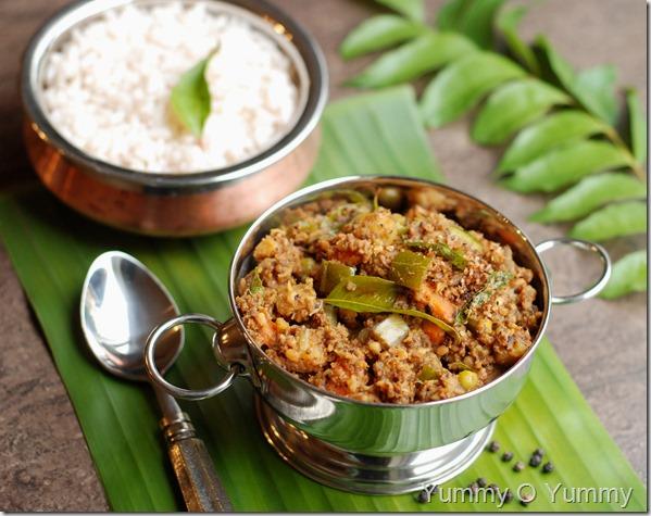 Koottu curry sadya