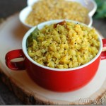 Parippu Thoran / Toor dal stir-fry with coconut