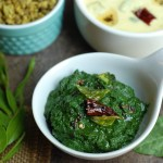 Spinach Chutney / Palak Chutney