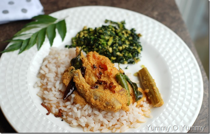 Malabar fish curry with coconut