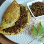 Beef Omelet – Kerala Style
