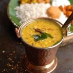 Trissur Style Parippu Curry / Parippu Mulaku Kachiyathu