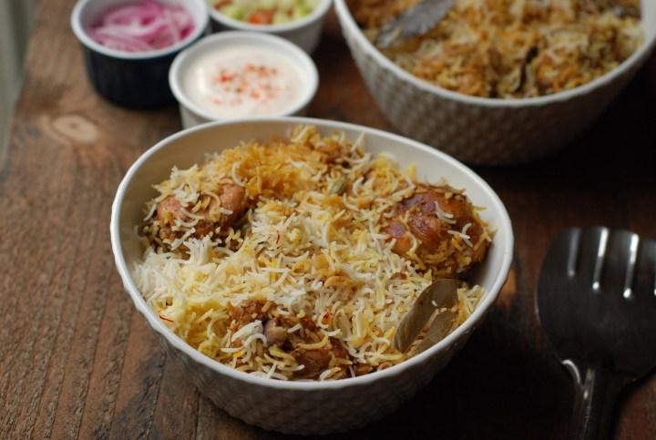 Awadhi Chicken Biriyani