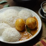 Nadan Thenga Aracha Mutta Curry / Eggs in Ground Coconut Gravy