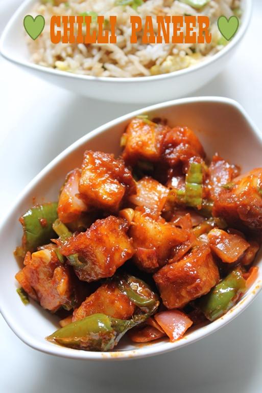Restaurant Style Chilli Paneer Recipe Chilli Paneer Dry Recipe Yummy Tummy