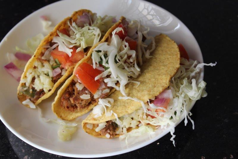 Mexican Vegetarian Tacos Recipe Veg Tacos Recipe