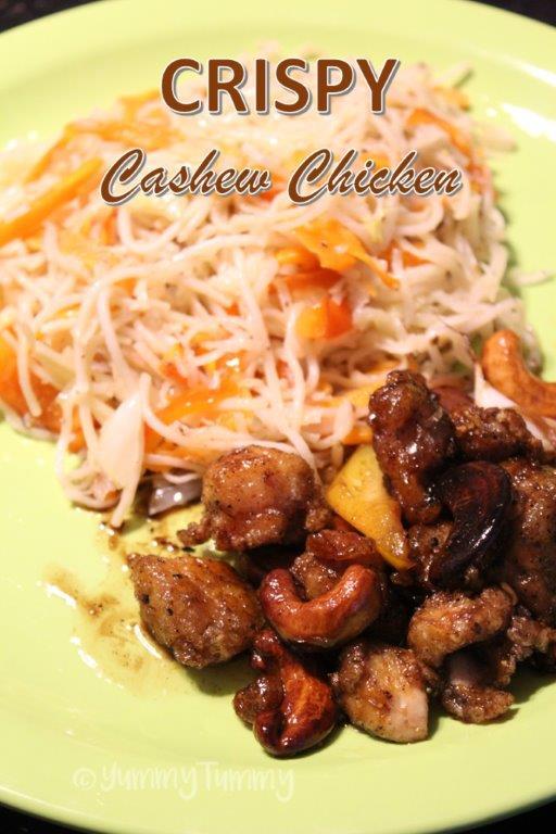 Crispy Cashew Chicken