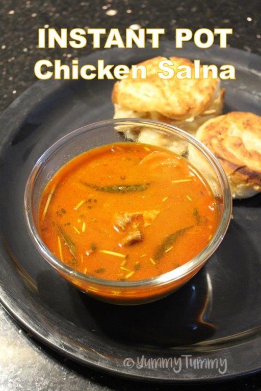 Instant Pot Chicken Salna