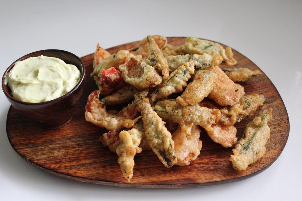 Mixed Vegetable Tempura