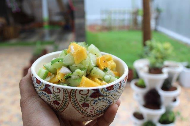 Mango Cucumber Salsa step 10