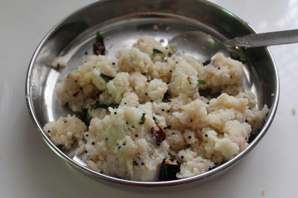 step 16 Rice Sago Kara Kolukattai