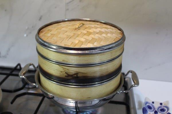 step 21 Rice Sago Kara Kolukattai