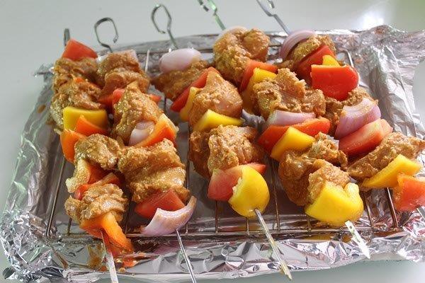 step 14 chicken kebab