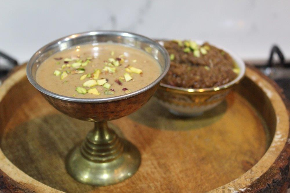 Dates and Nuts Kheer
