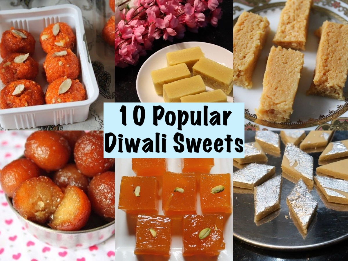 Popular Diwali Sweets