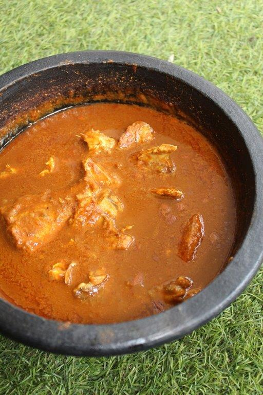 Instant Fish Curry