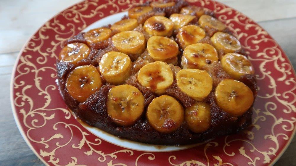 Banana Upside Down Cake