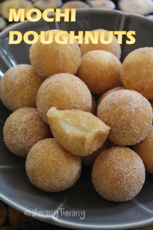 Glutinous Rice Flour Doughnuts