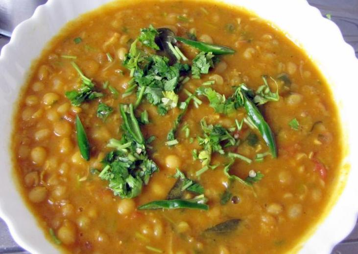 White Peas Curry