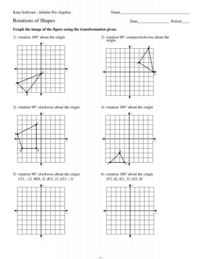 Rotations Of Shapes