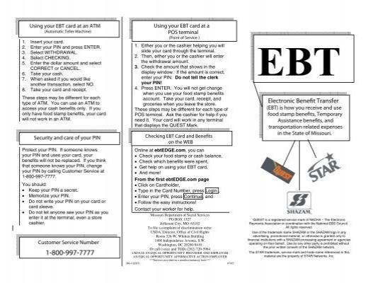Mo Ebt Card Balance Creativecard Co