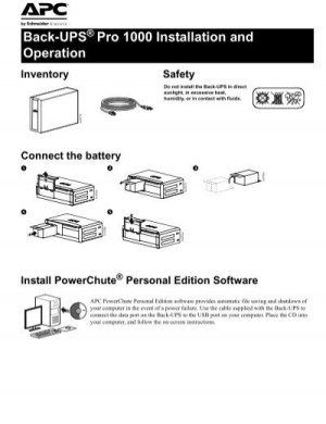 BackUPS Pro 1000 Installation and Operation  Dell