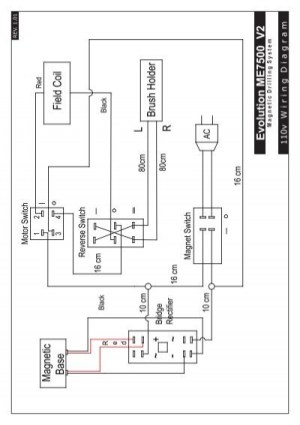 LY Wiring Diagrams VER101 A1indd  Evolution Power Tools Ltd