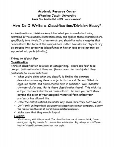 division and classification essay examples docoments ojazlink classification and division essay college stress