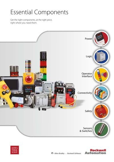 "product catalog ""essential components"""