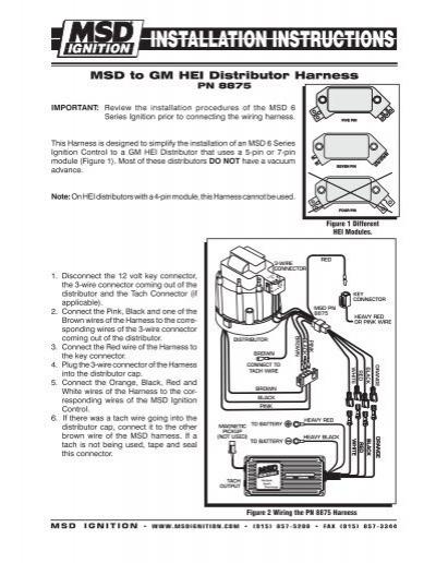 Wonderful Msd 7al 2 Wiring Diagram Pictures - ufc204.us - diagram ...