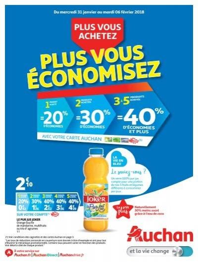 auchan catalogue 06 fevrier 18