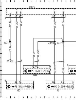 W211 Wiring Diagram engine CAN BUSpdf