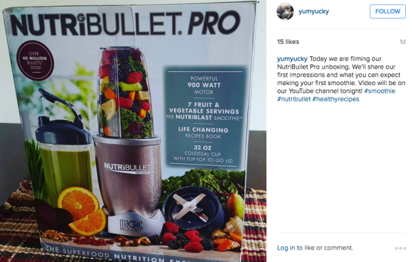 nutribullet instagram
