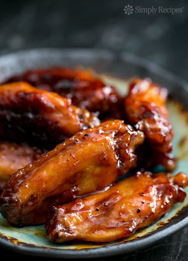 bourbon-maple-glazed-chicken-wings