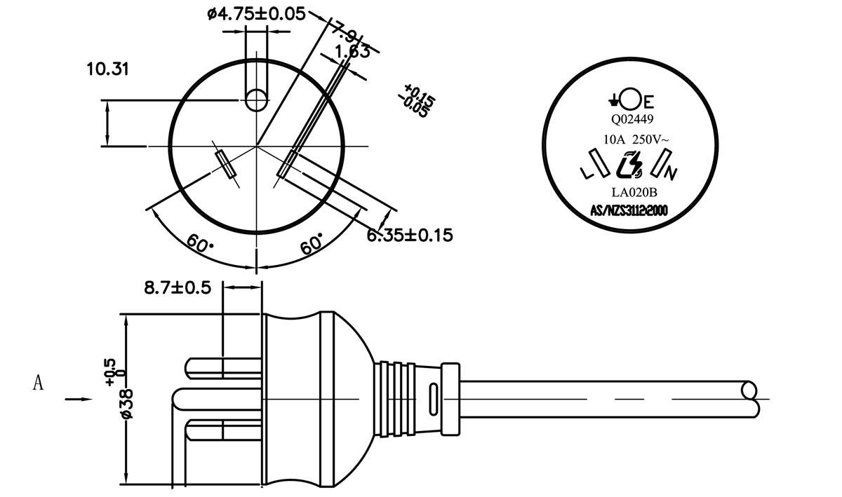 3 pin plug wiring diagram   25 wiring diagram images
