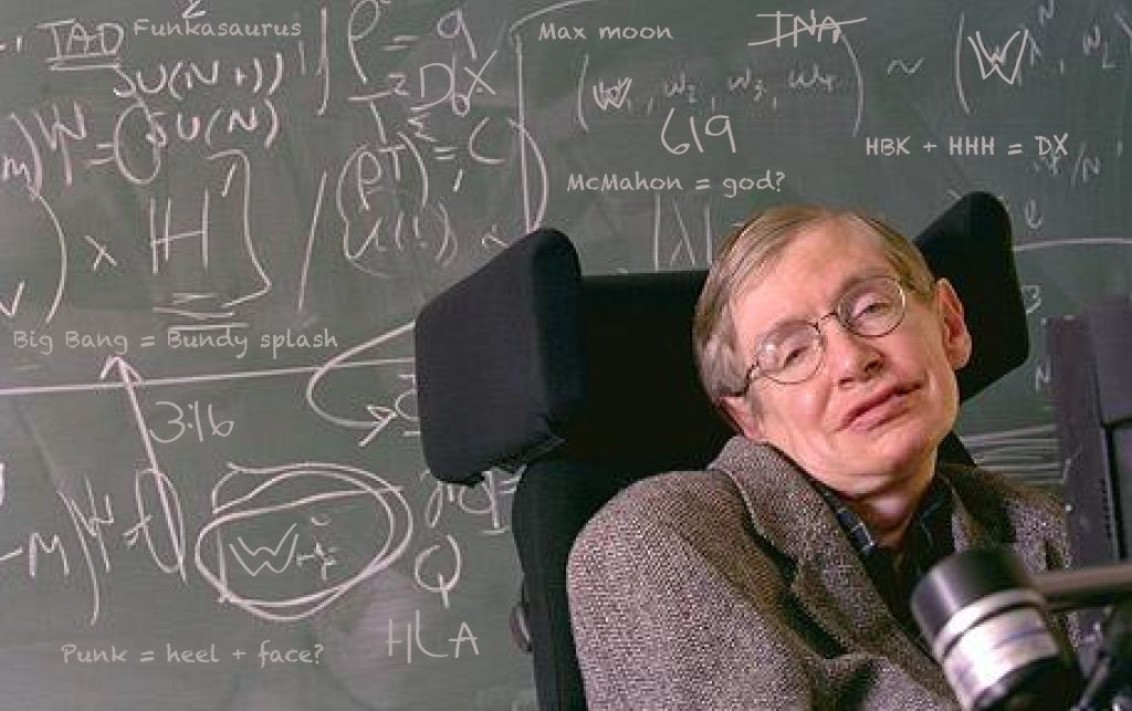 Hawking e il suo insegnante di matematica