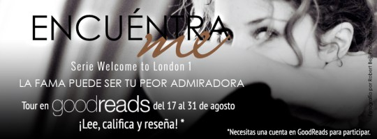 Encuentrame Blog Tour Goodreads