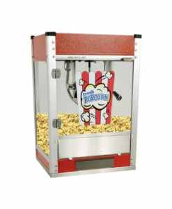 Cineplex Popcorn Maker and Stand 4oz - Red
