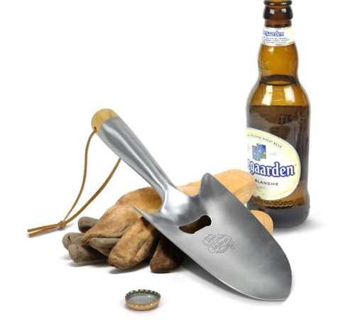 Beer Gardener Trowel Bottle Opener