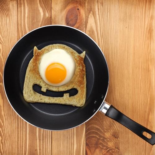 Egg Monster Toast Cutter