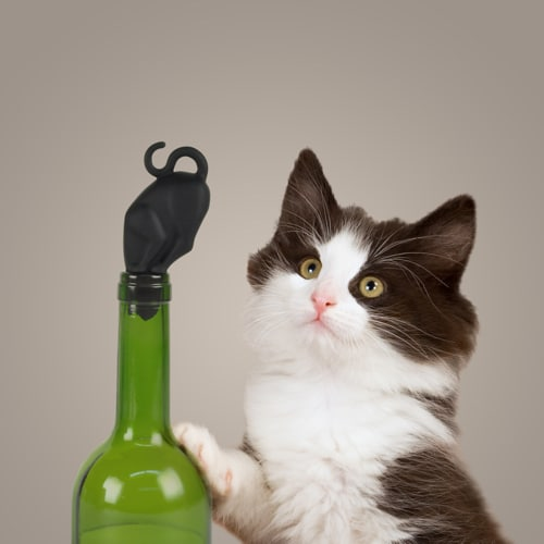 Stop Kitty! Wine Stopper
