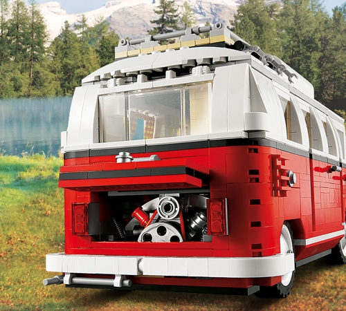 lego creator vw t1 camper van 10220 yuppie gadgets. Black Bedroom Furniture Sets. Home Design Ideas