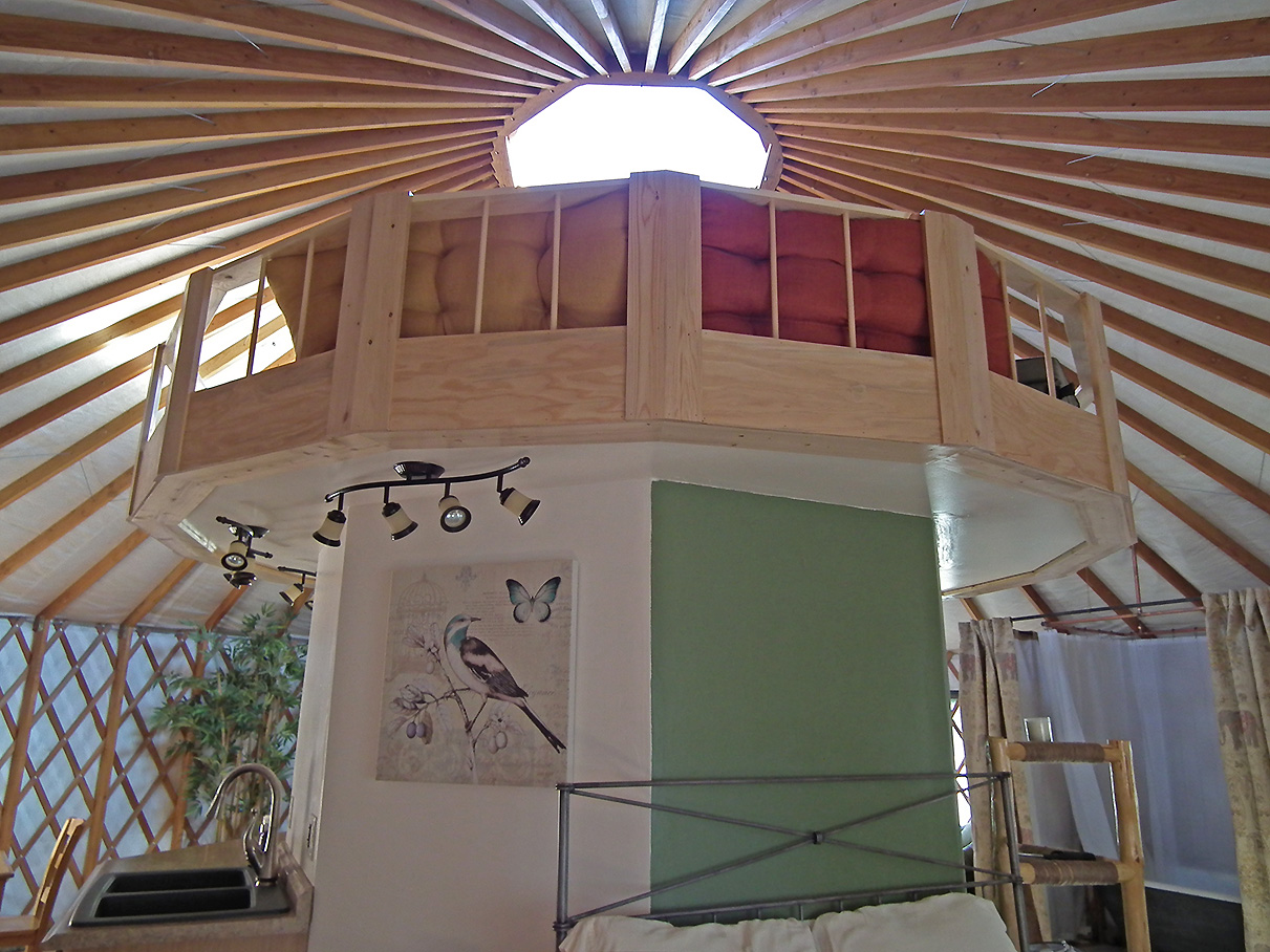 Yurt Interiors Pacific Yurts