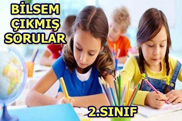 Bilsem 2.Sınıf Seçme Sınavı